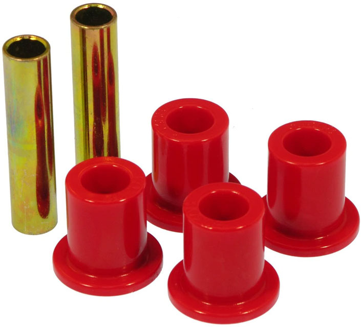 Prothane 6-801 Frame Shackle Bushings - Red Ford F250 1967-1979