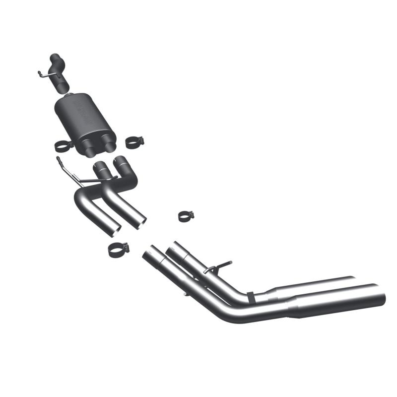 MagnaFlow 16736 Exhaust Products MF Series Stainless Cat-Back System Ford F-150 2009-2010