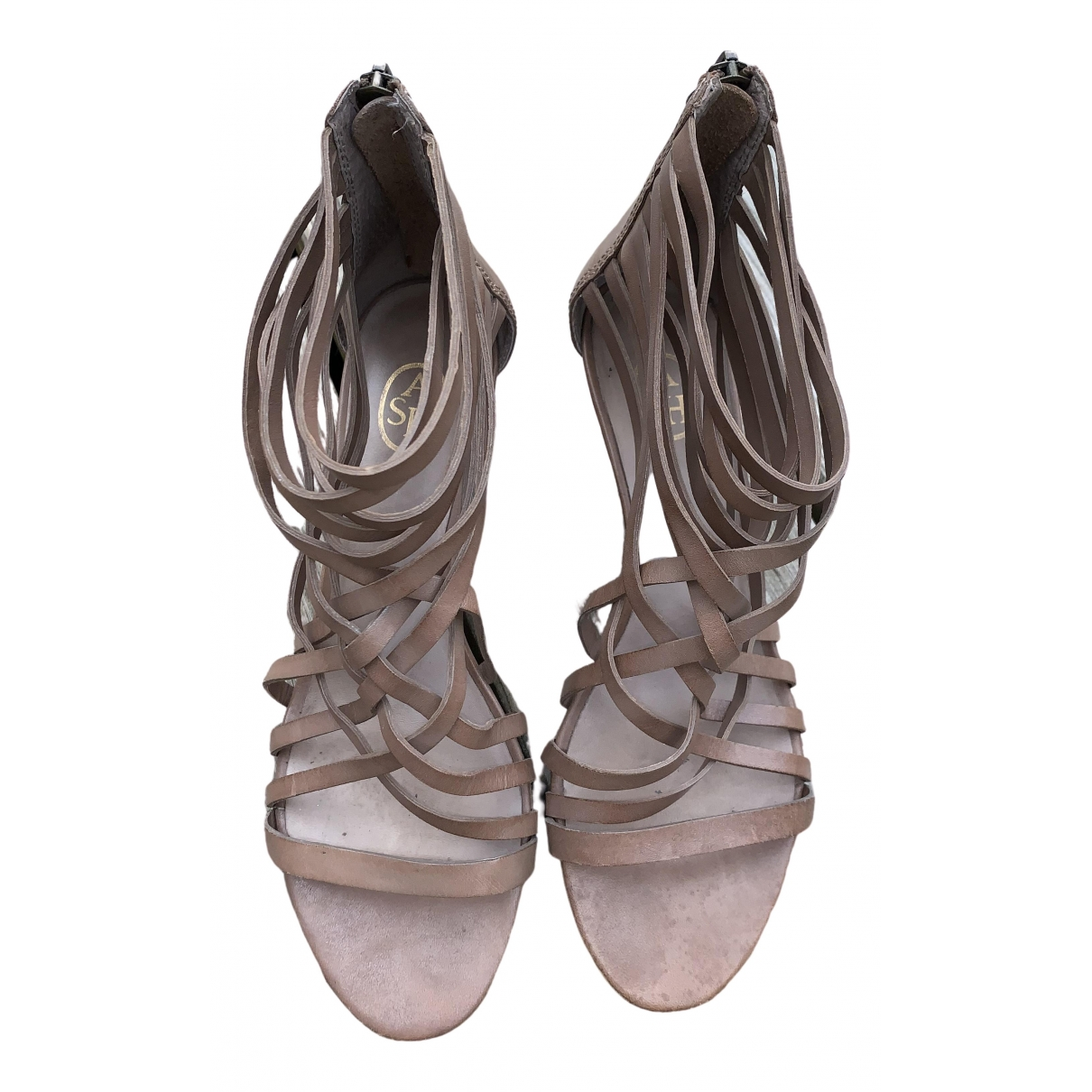 Sandalias de Cuero Ash