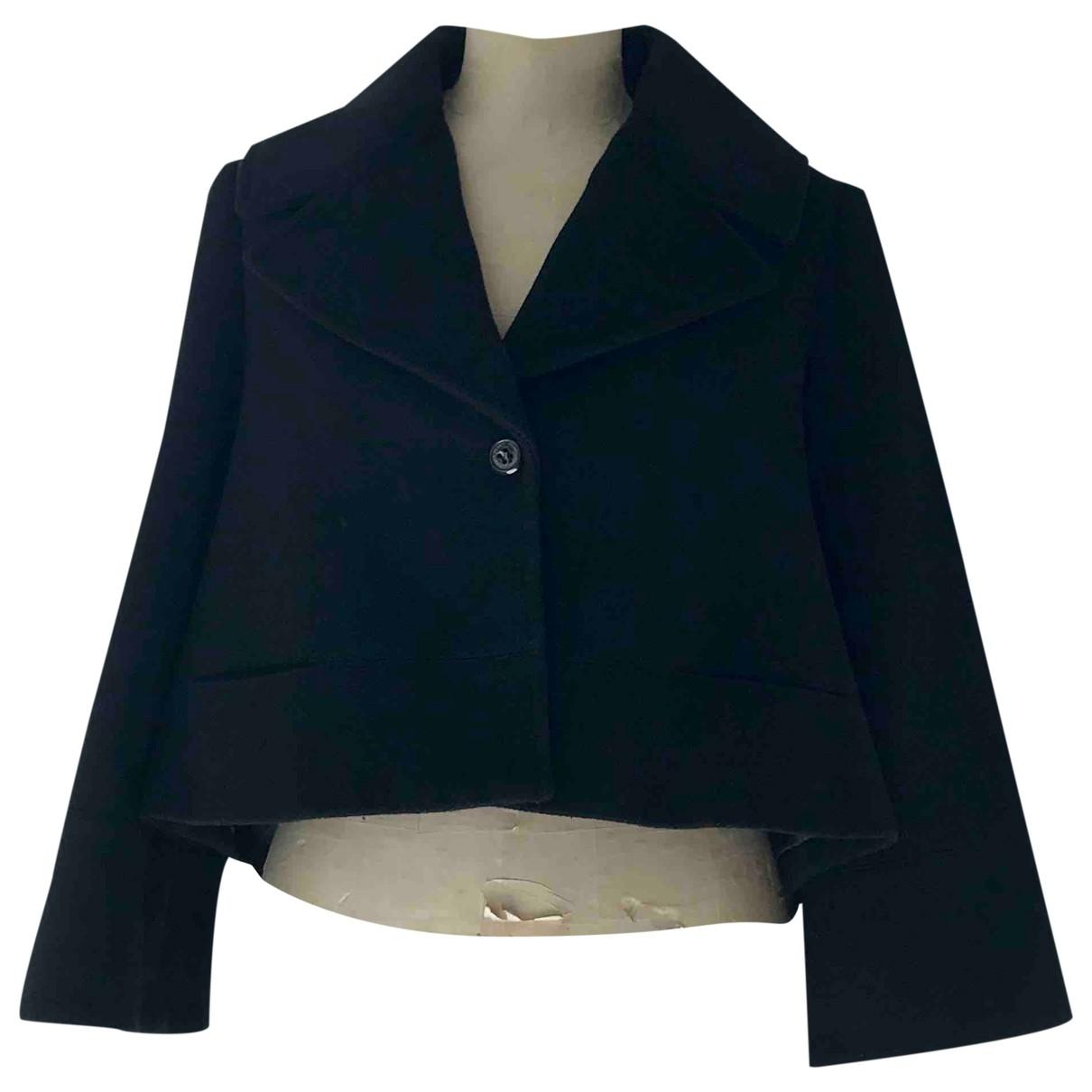 Pinko \N Black Wool jacket for Women 42 IT