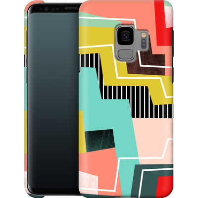 Samsung Galaxy S9 Smartphone Huelle - Color Block I von Susana Paz