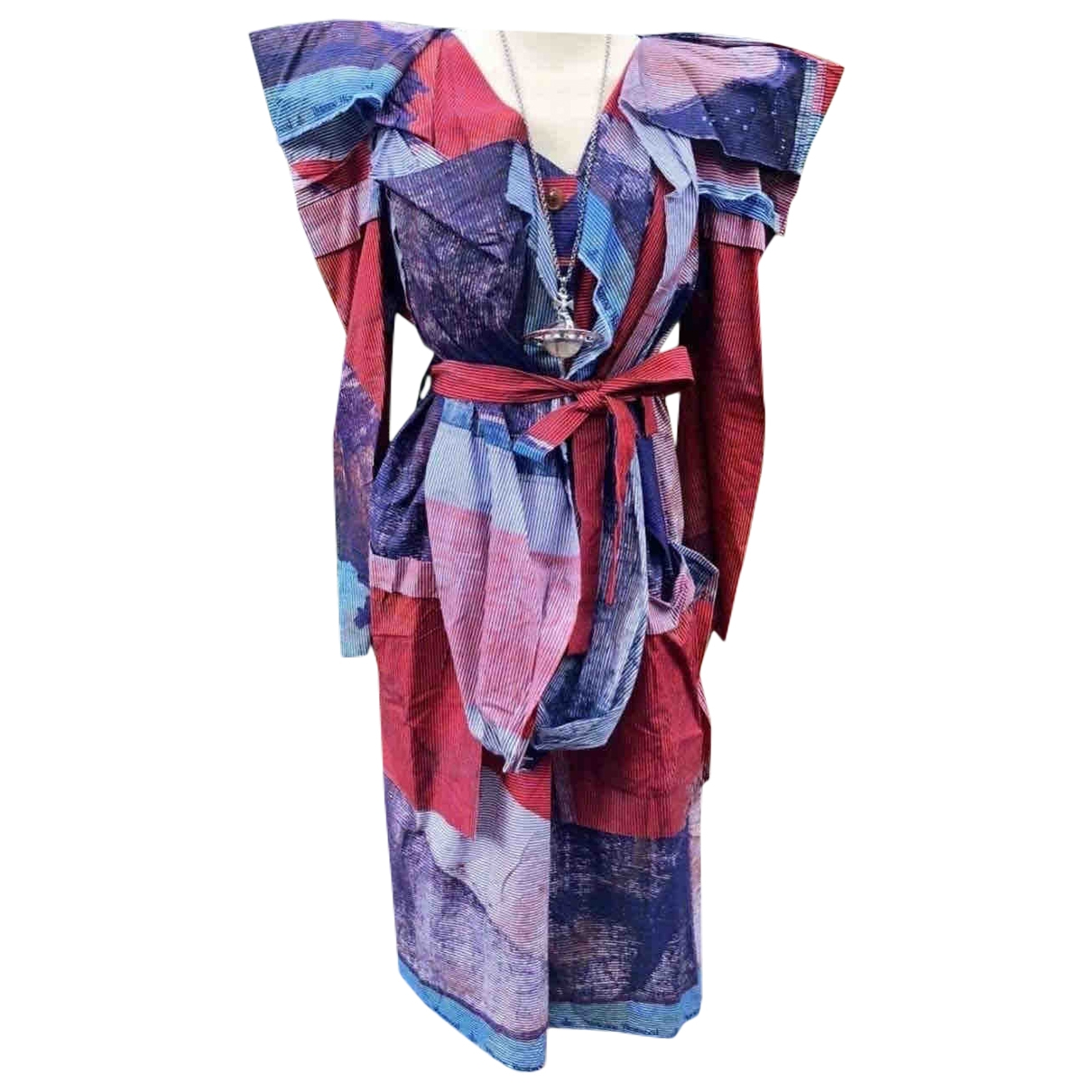 Vivienne Westwood \N Kleid in  Bunt Baumwolle - Elasthan