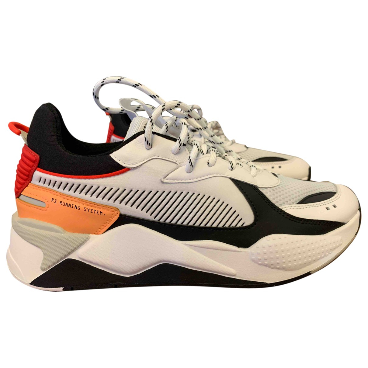 Puma \N White Rubber Trainers for Men 46 EU