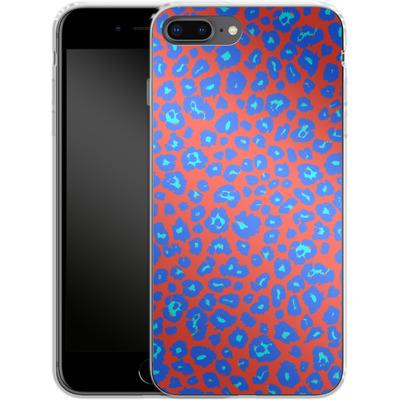 Apple iPhone 7 Plus Silikon Handyhuelle - Bright Leopard Print von caseable Designs
