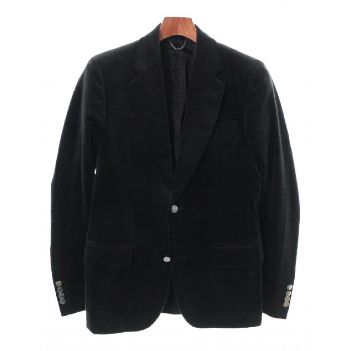 Louis Vuitton \N Jacke in  Grau Samt