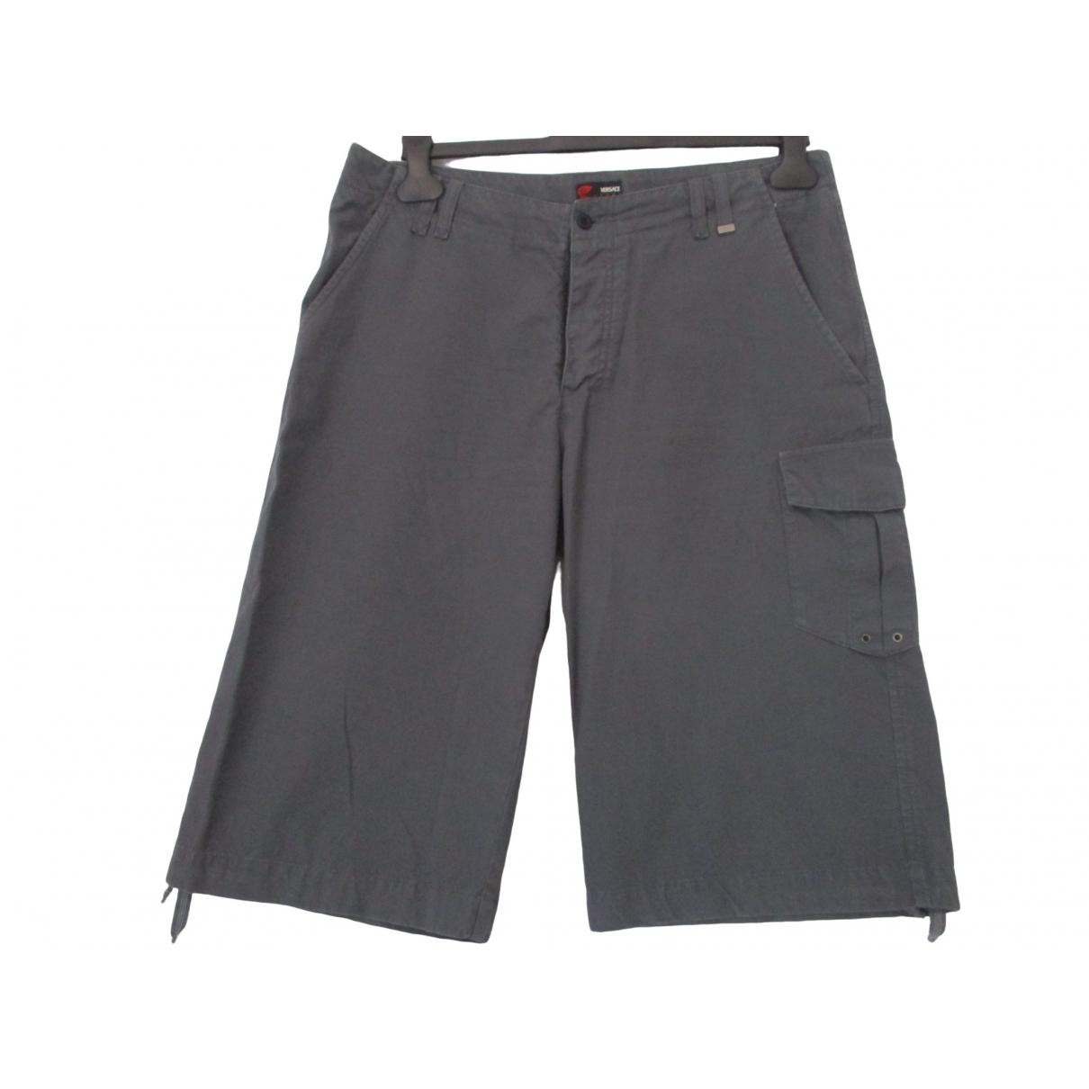 Versace Jeans \N Grey Cotton Shorts for Men 50 IT