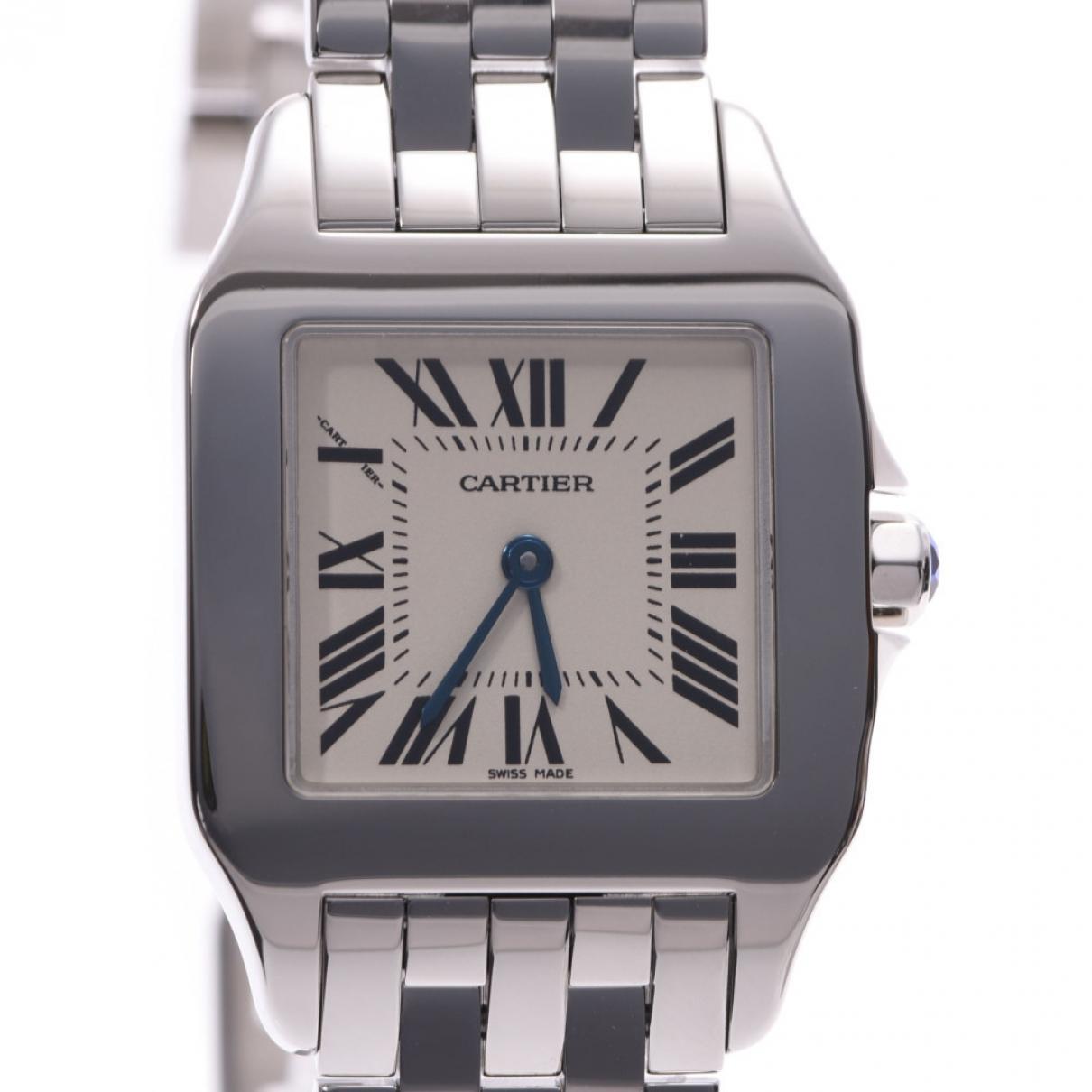 Cartier Santos Demoiselle Steel watch for Women \N