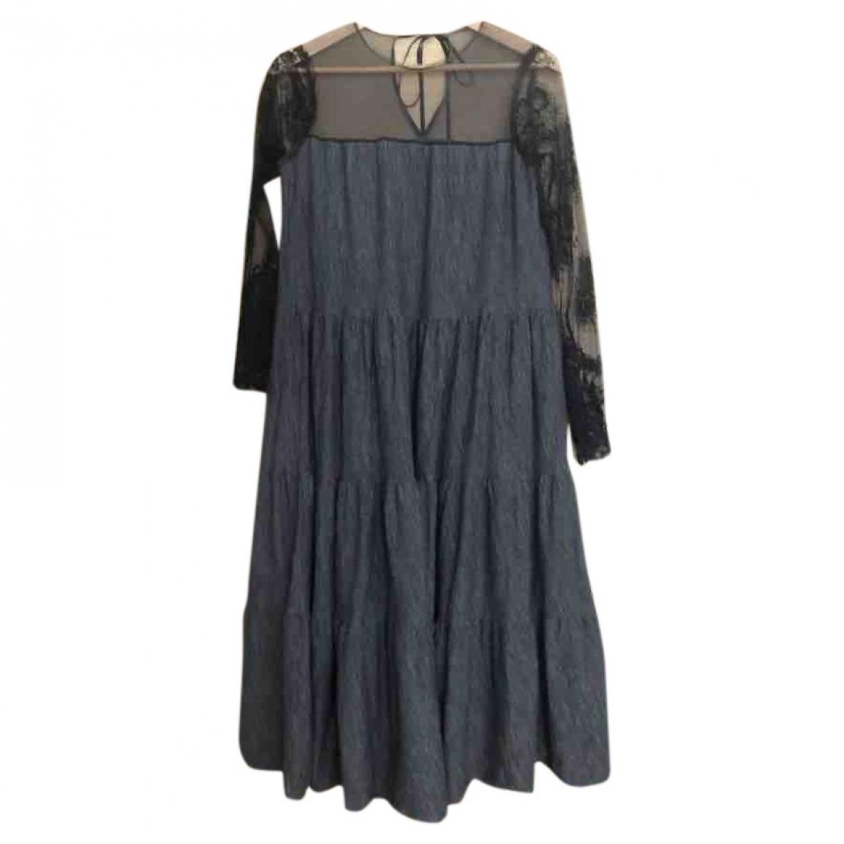 Lanvin \N Grey Wool dress for Women 38 FR
