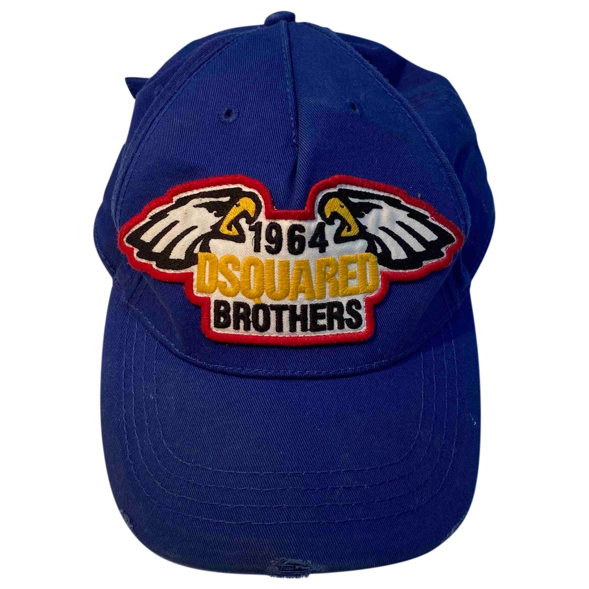 Dsquared2 \N Blue Cotton hat for Women M International