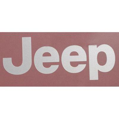 Jeep Wrangler Decal (Silver) - 5FC84HA2AB