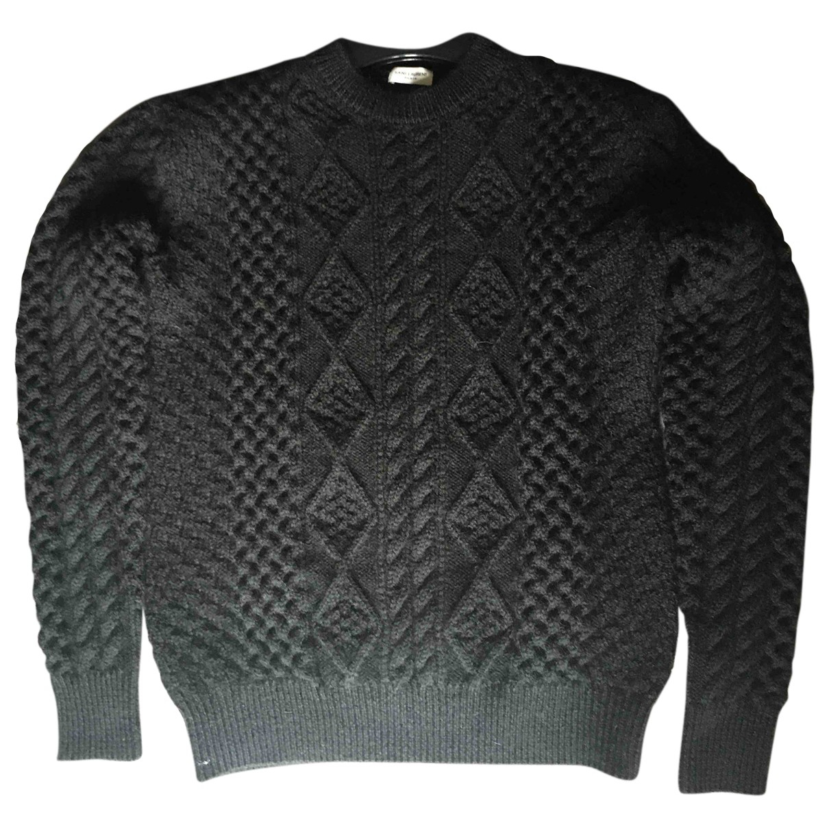 Saint Laurent N Black Wool Knitwear & Sweatshirts for Men XS International
