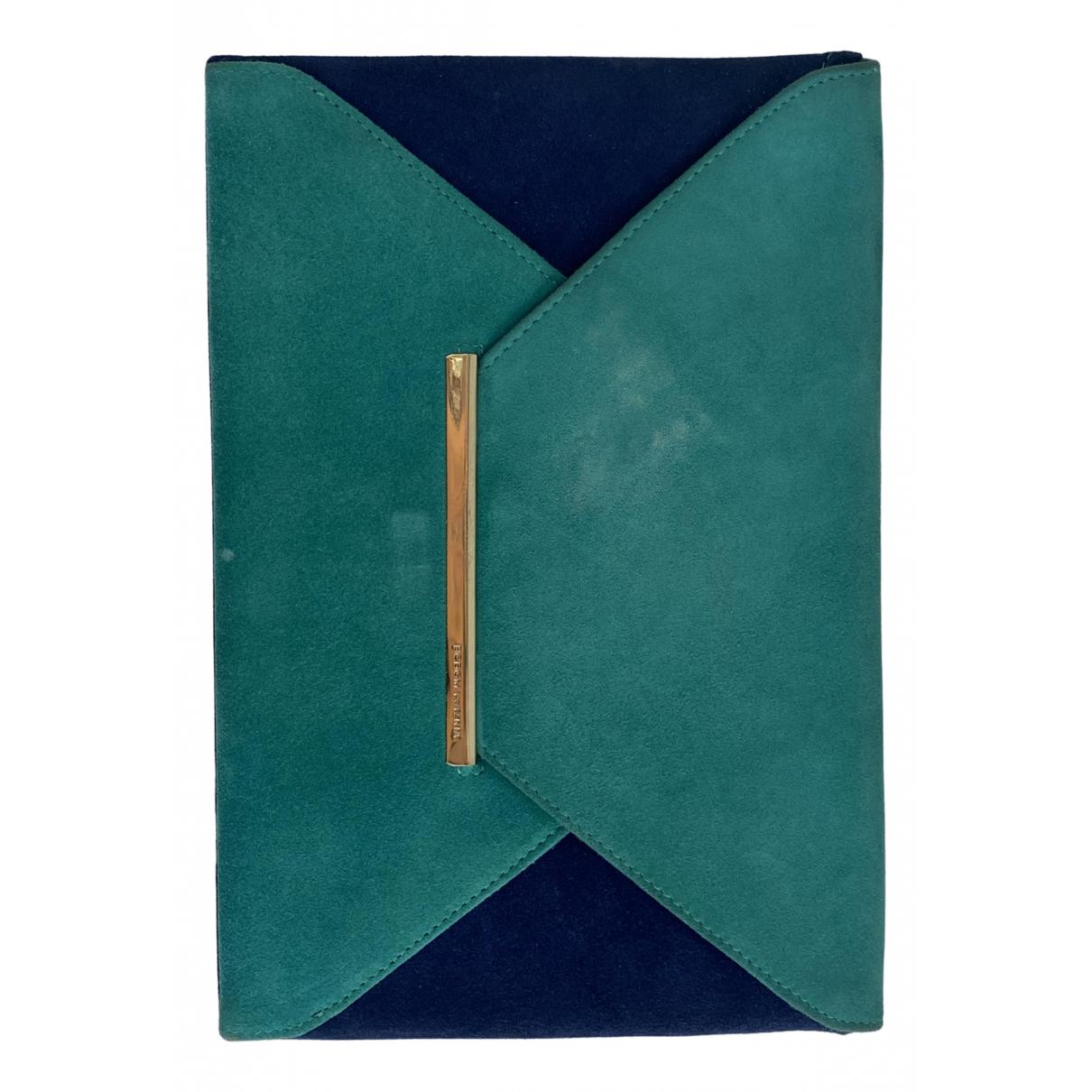 Bcbg Max Azria \N Clutch in  Blau Kunststoff