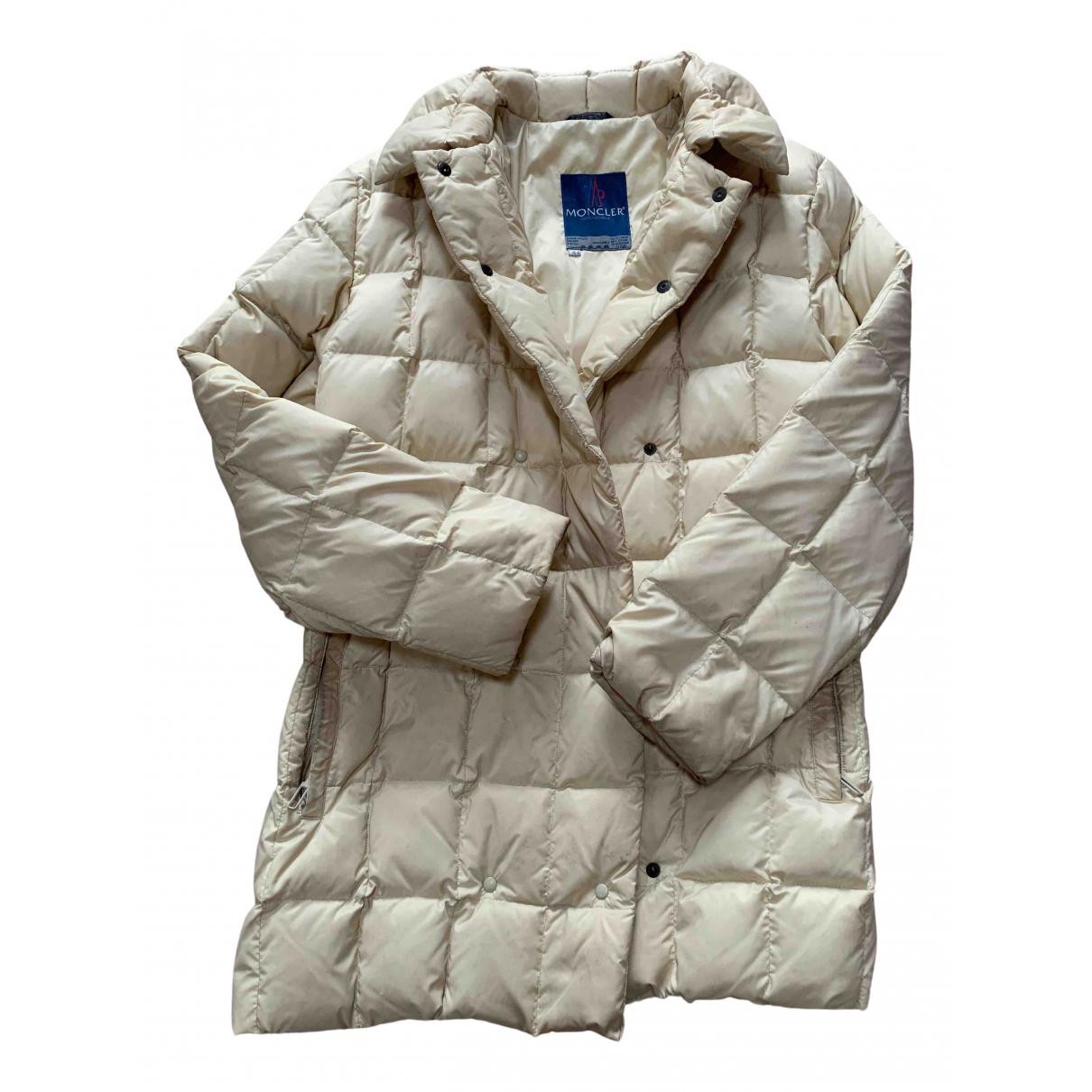 Moncler - Manteau   pour femme - jaune