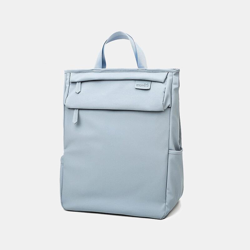 Women Oxford Waterproof Anti theft Large Capacity Mommy Handbag Shoulder Bag Backpack