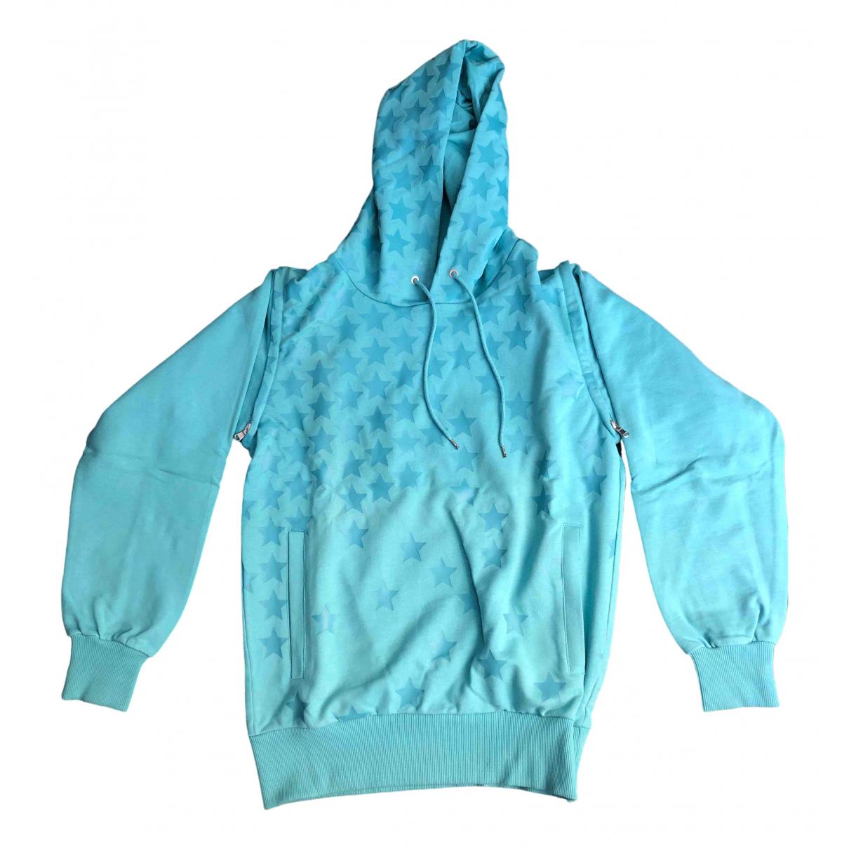 Umbro X Kim Jones \N Pullover.Westen.Sweatshirts  in  Blau Baumwolle