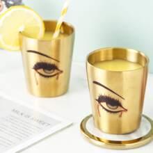 1 Stueck Teetasse mit Halloween Augen Muster