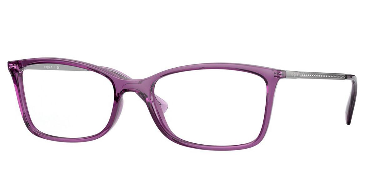 Vogue Eyewear VO5305B 2761 Women's Glasses Violet Size 52 - Free Lenses - HSA/FSA Insurance - Blue Light Block Available