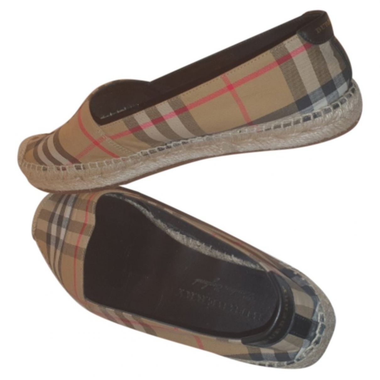 Burberry \N Espadrilles in  Bunt Polyester
