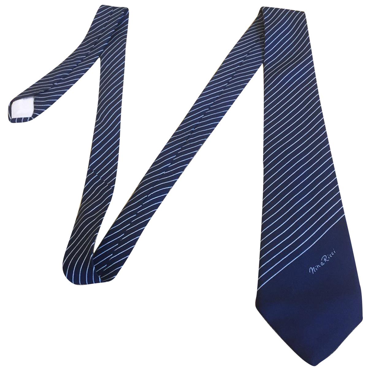 Nina Ricci - Cravates   pour homme en soie - multicolore