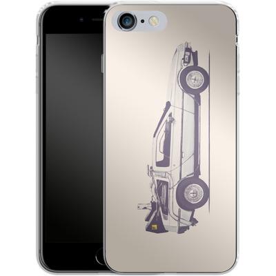 Apple iPhone 6s Plus Silikon Handyhuelle - Delorean von Florent Bodart