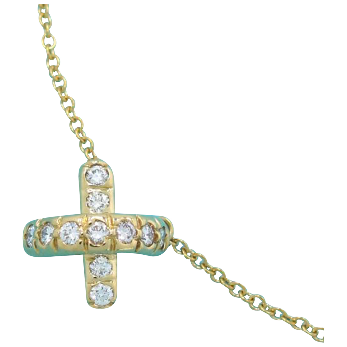 Tiffany & Co N Yellow gold necklace for Women N
