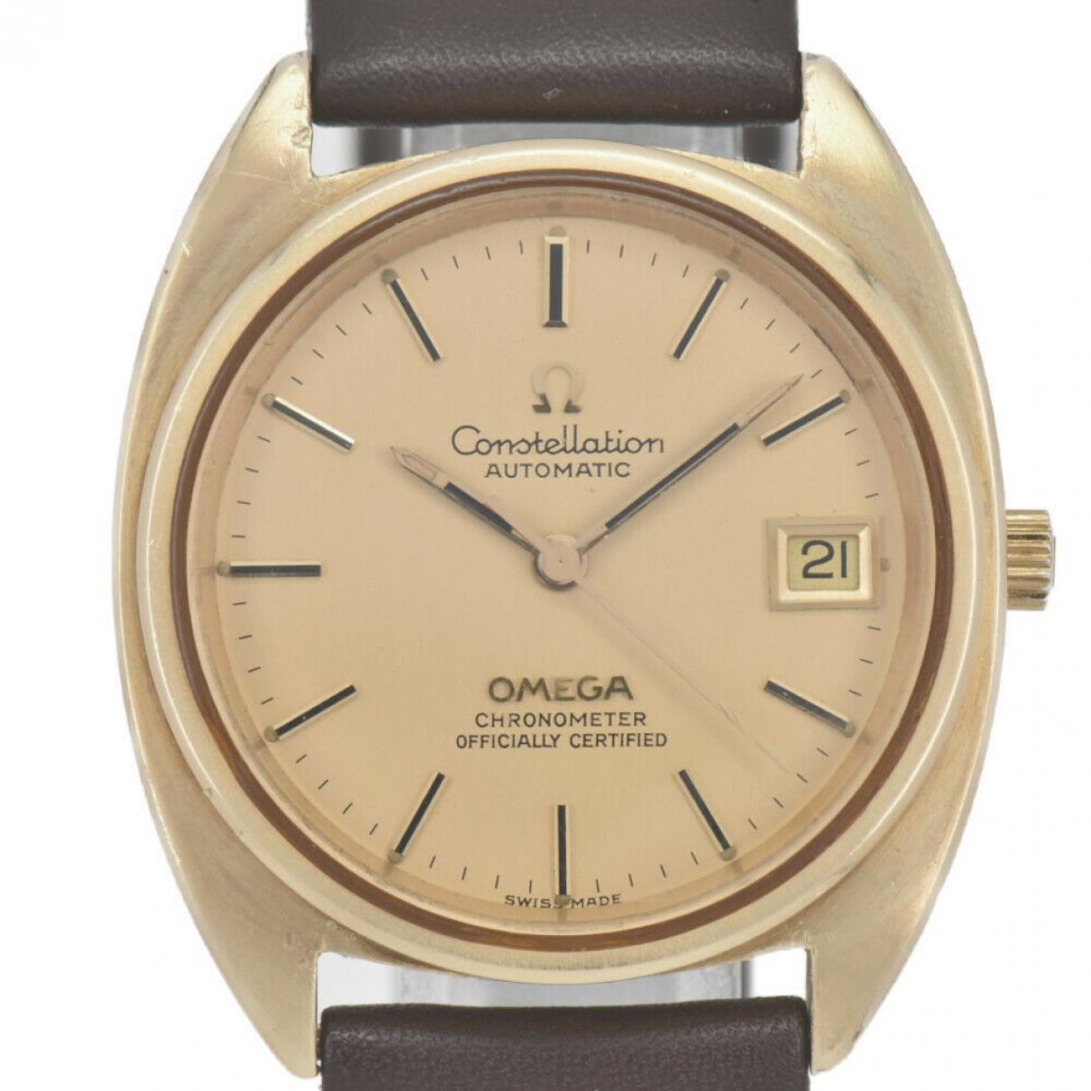 Omega Constellation Uhr in  Gold Vergoldet