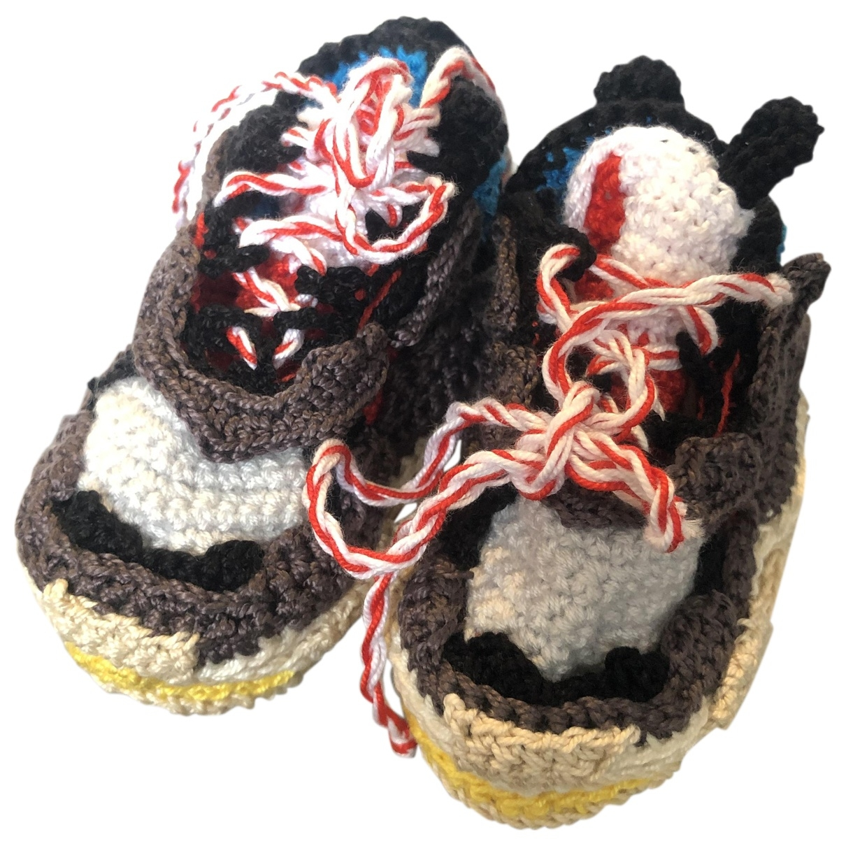 Non Signé / Unsigned \N Cloth First shoes for Kids 19 EU