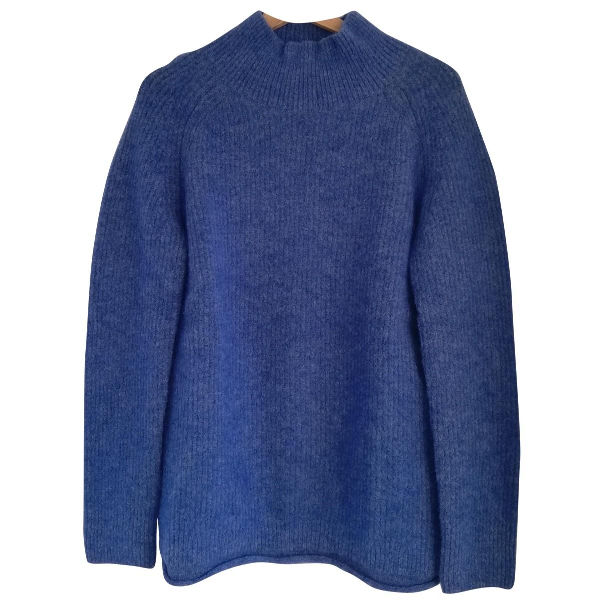 Cos \N Blue Wool Knitwear for Women XS International