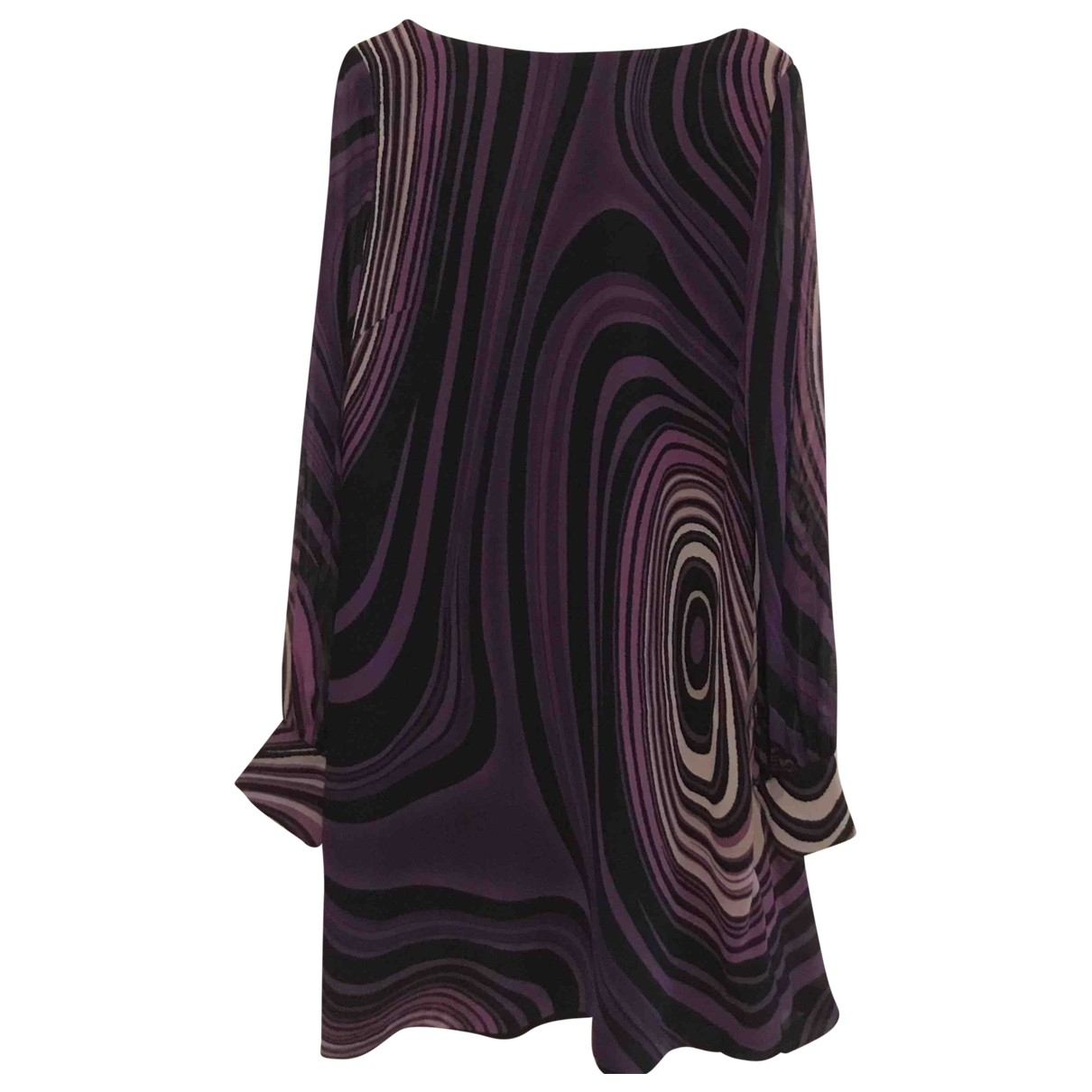 Red Valentino Garavani \N Silk dress for Women 46 IT