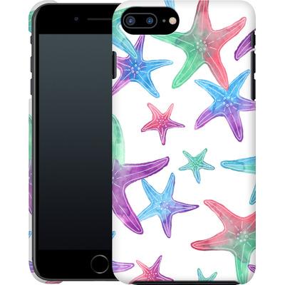 Apple iPhone 7 Plus Smartphone Huelle - Starfish Print von Becky Starsmore