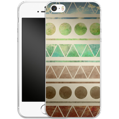 Apple iPhone SE Silikon Handyhuelle - Transition von Terry Fan