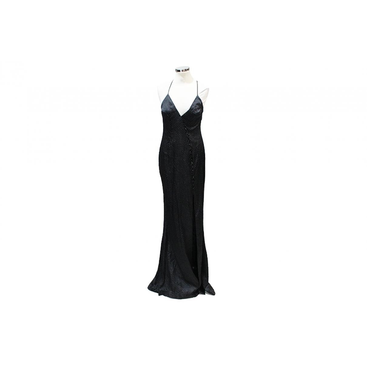 Azzaro \N Black Silk dress for Women 36 FR