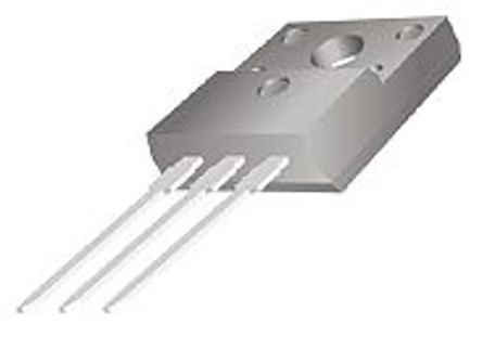 ON Semiconductor ON Semi FJPF5027OTU NPN Transistor, 3 A, 800 V, 3-Pin TO-220F (10)
