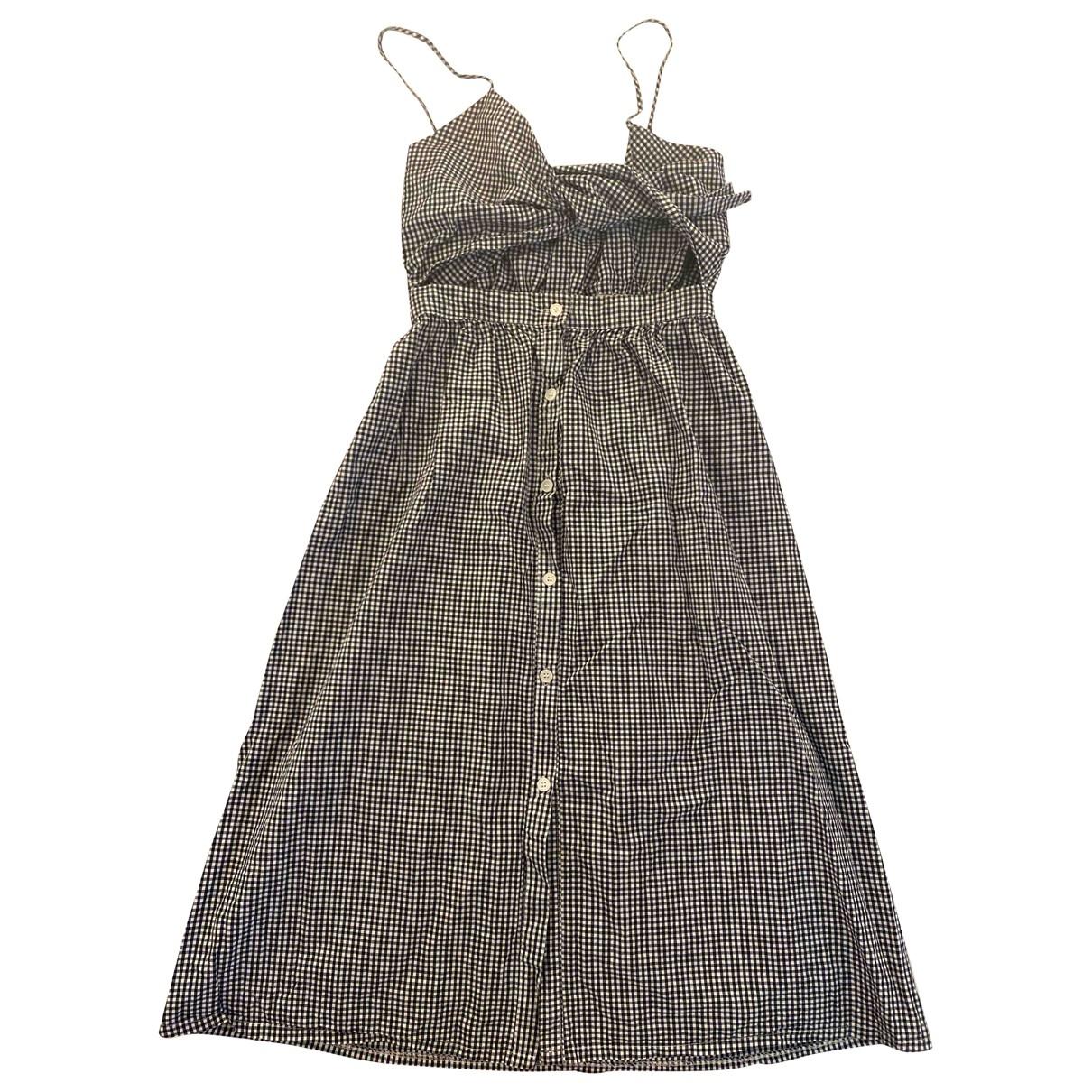 Storets \N Kleid in  Blau Baumwolle