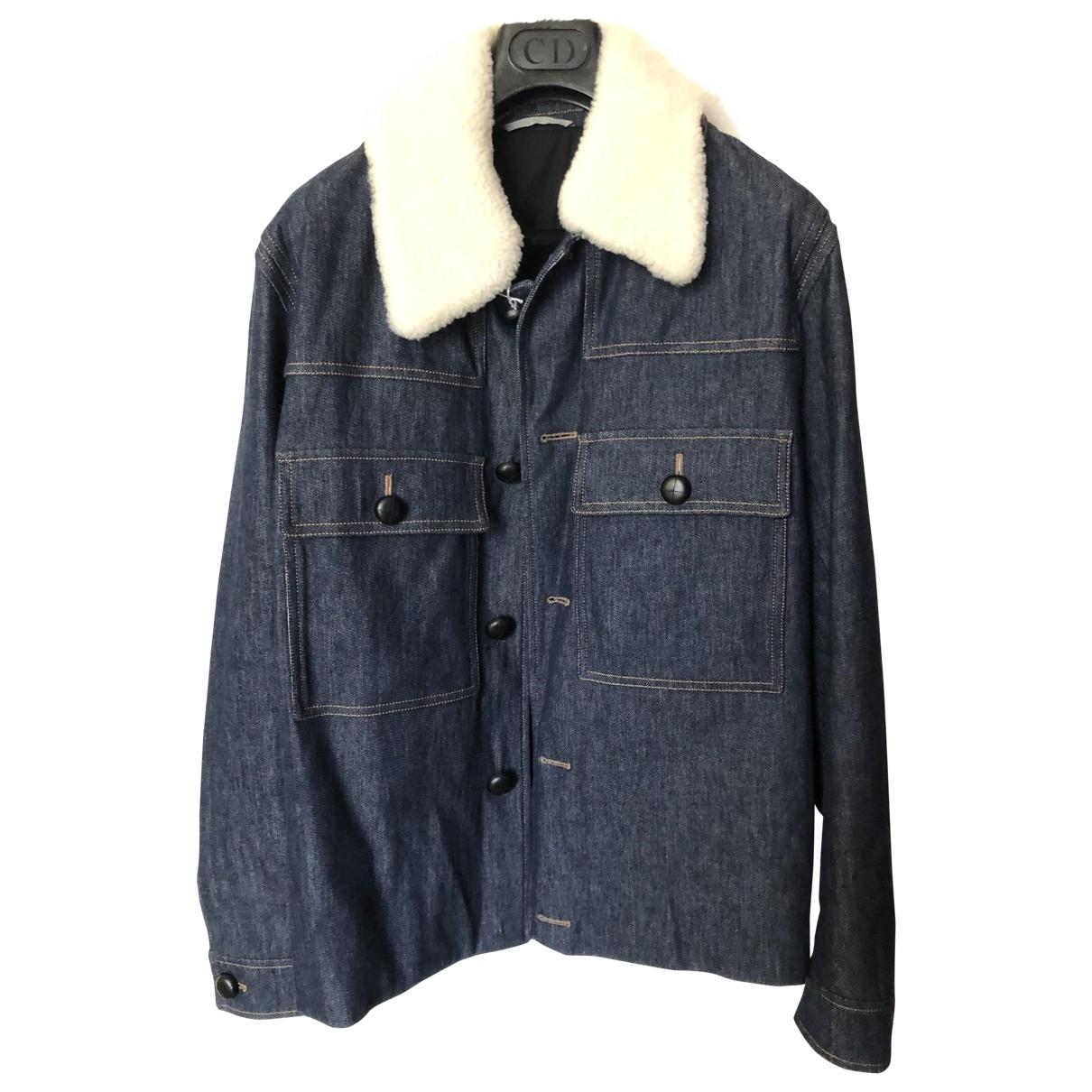 Dior Homme \N Jacke in  Marine Denim - Jeans