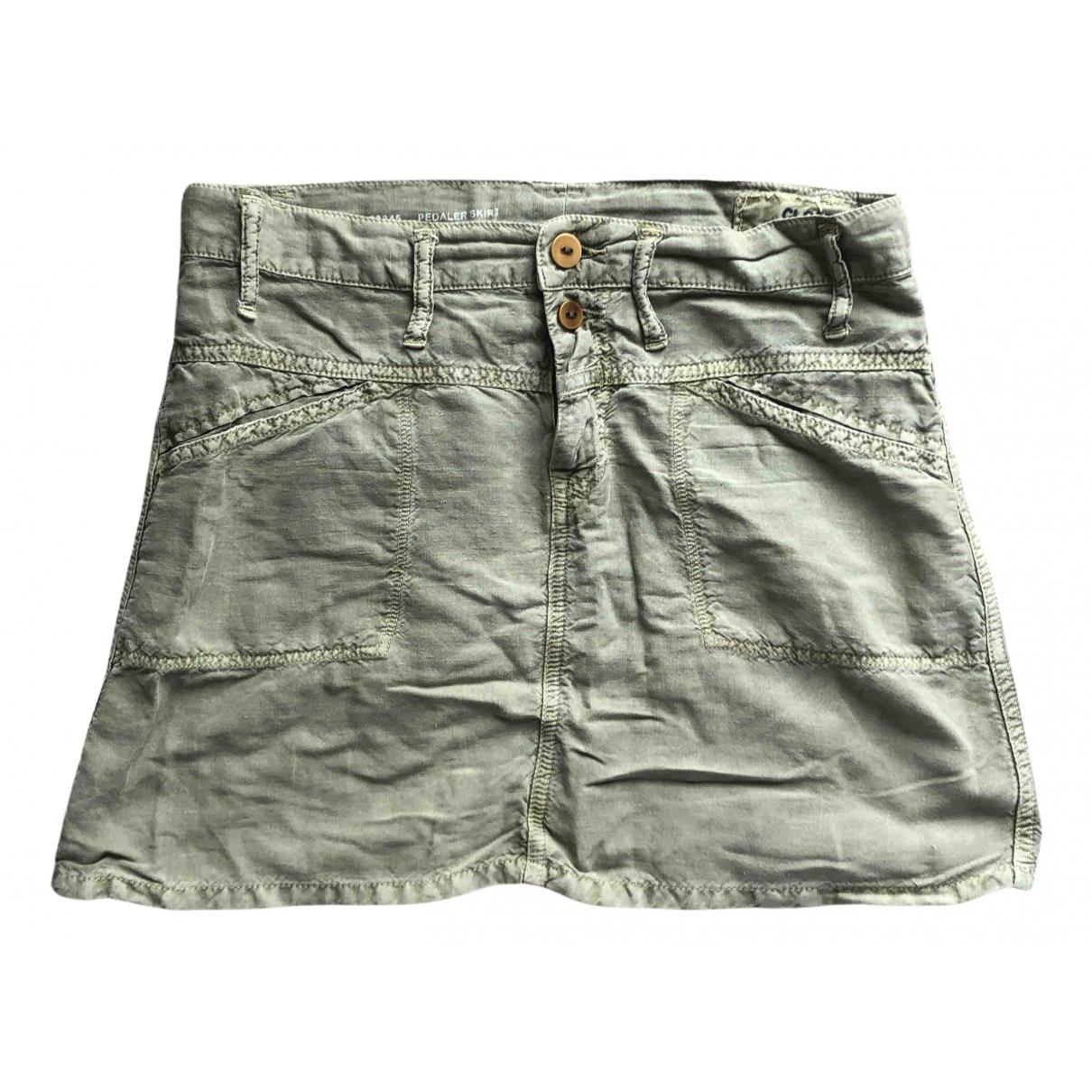 Closed N Green Linen skirt for Women 42 IT