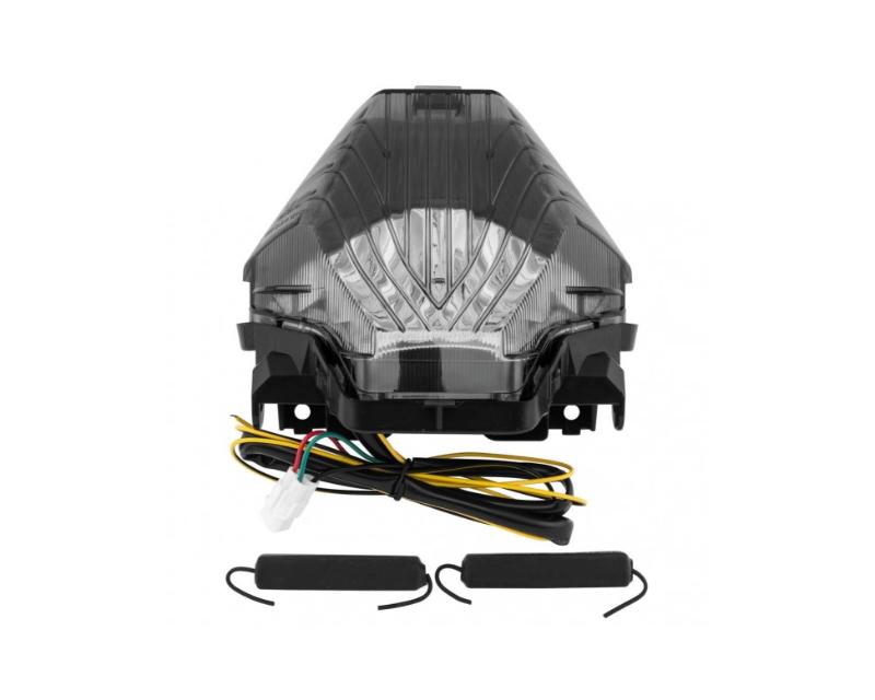 Bikemaster Integrated Motorcycle Tail Light Smoked FZ07
