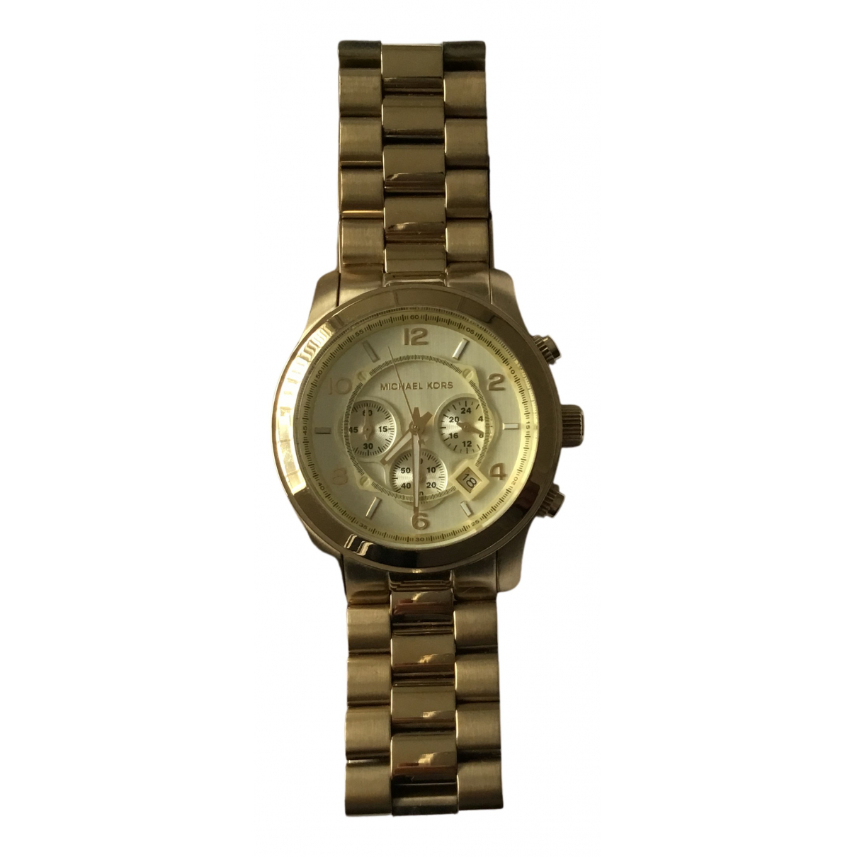 Michael Kors N Gold Steel watch for Men N