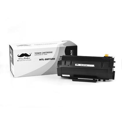 Compatible Lexmark MS610de Toner Cartridge - Lexmark 501U 50F1U00 Black Ultra High Yield - Moustache®