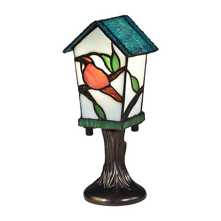 Dale Tiffany Aviary Desk Lamp, One Size , Multiple Colors