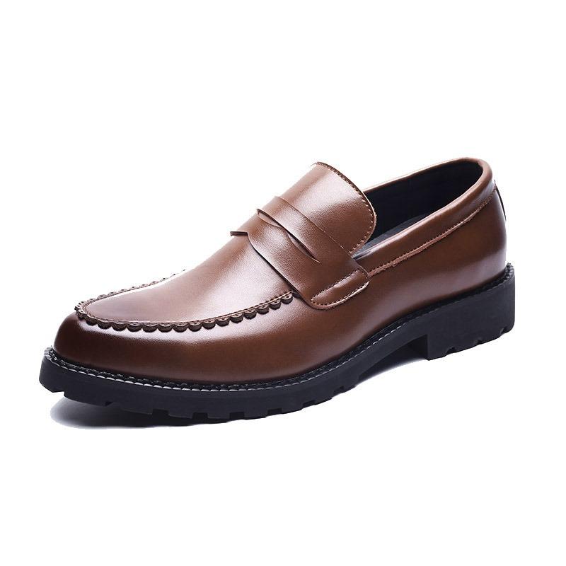 Ericdress Plain Round Toe Men's Shoes