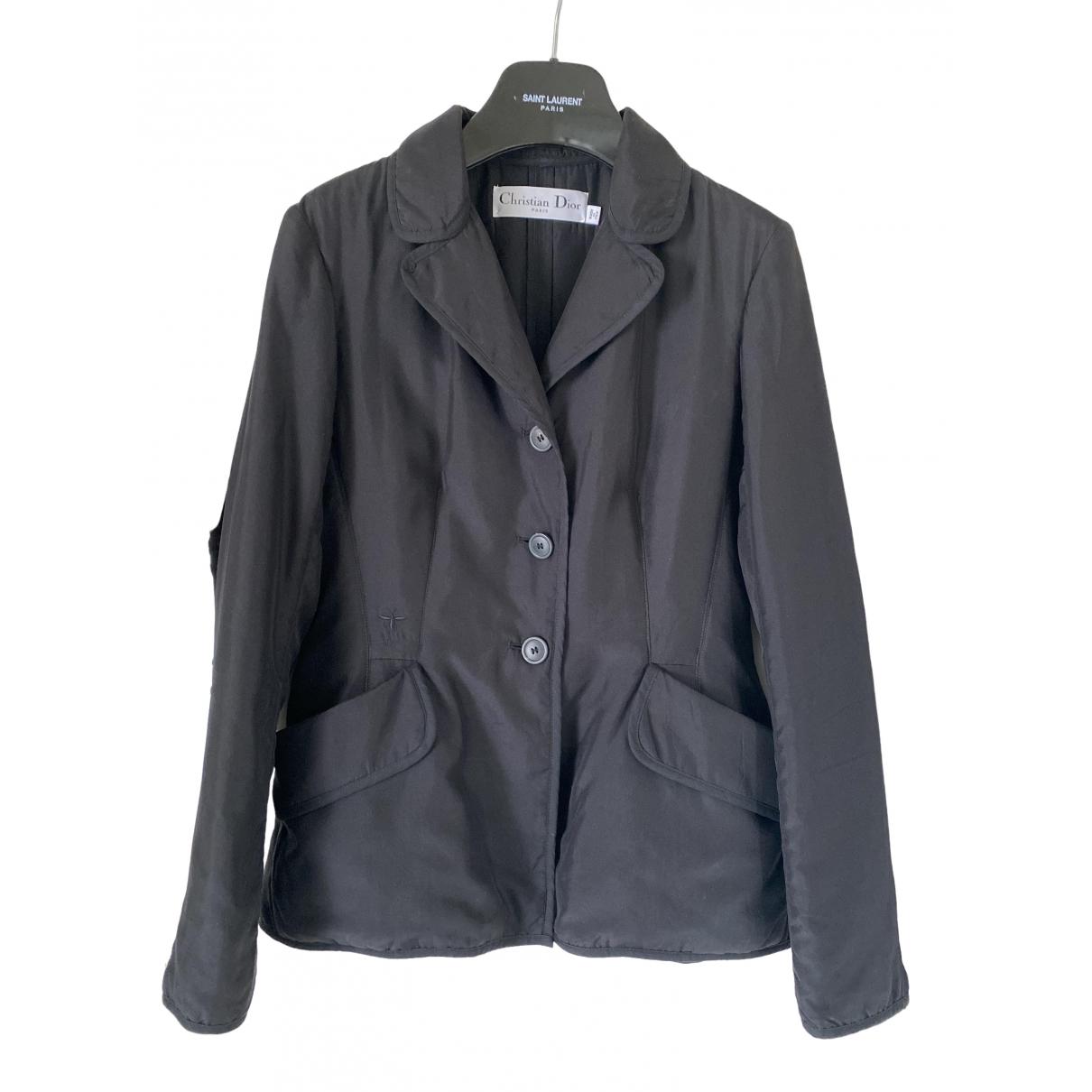 Dior \N Black Silk jacket for Women 38 FR