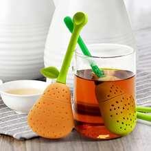 1 Stueck Teefilter mit Birnen Design