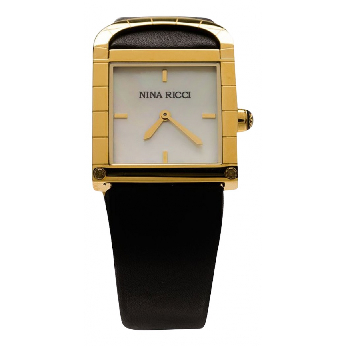 Nina Ricci \N White Gold plated watch for Women \N