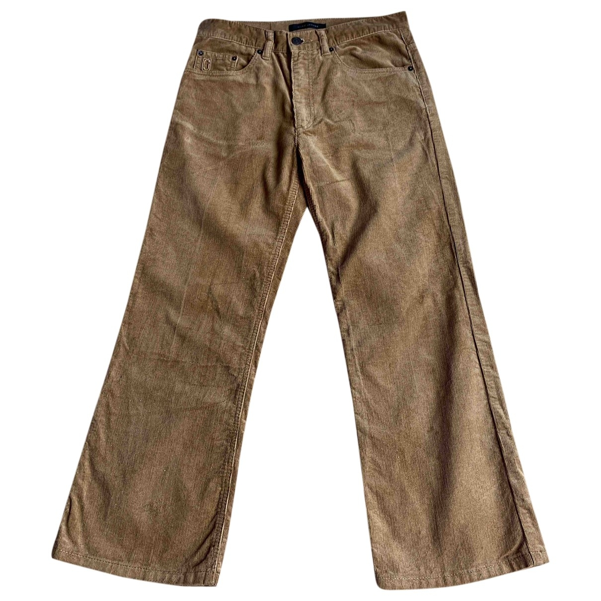 Marc Jacobs \N Camel Cotton Trousers for Women M International