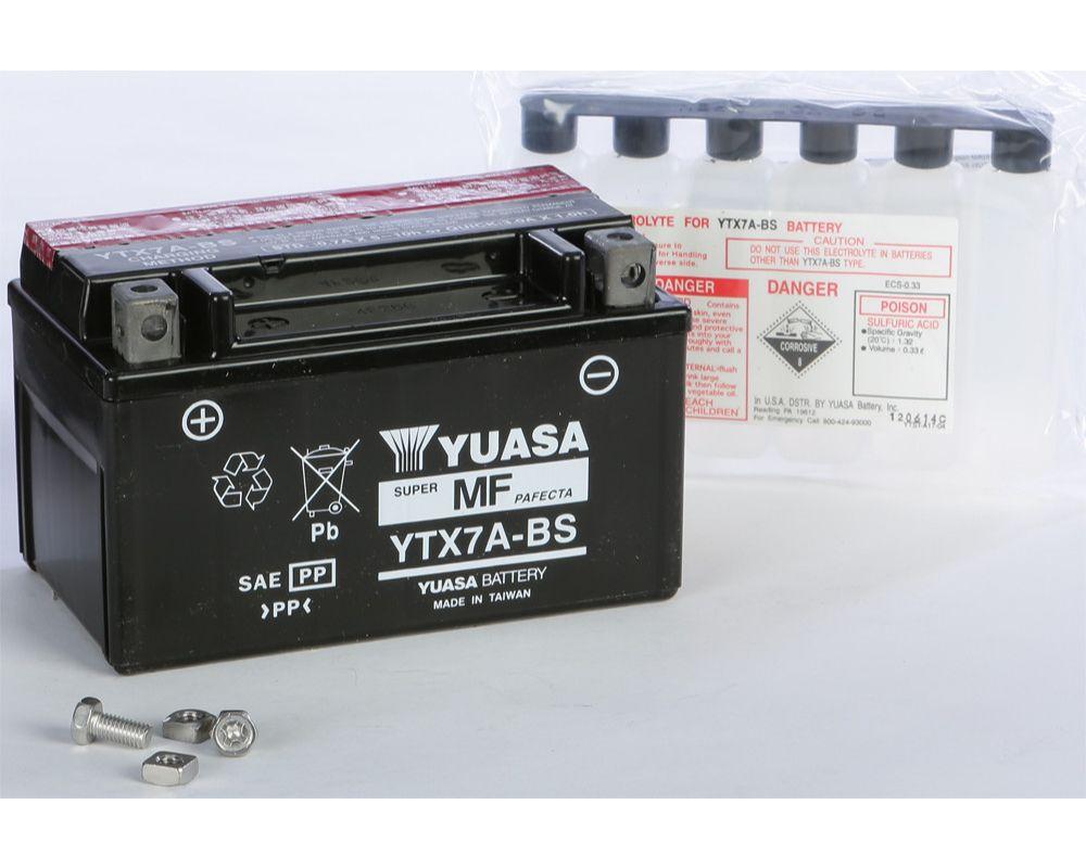 Yuasa YUAM32X7A Maintenance Free YTX7A-BS Battery