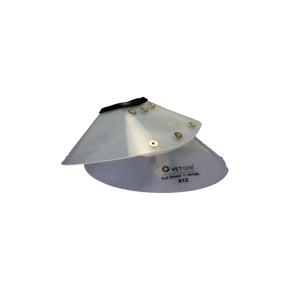 VetOne Full Shield Elizabethan E-Collar 415, 6.25