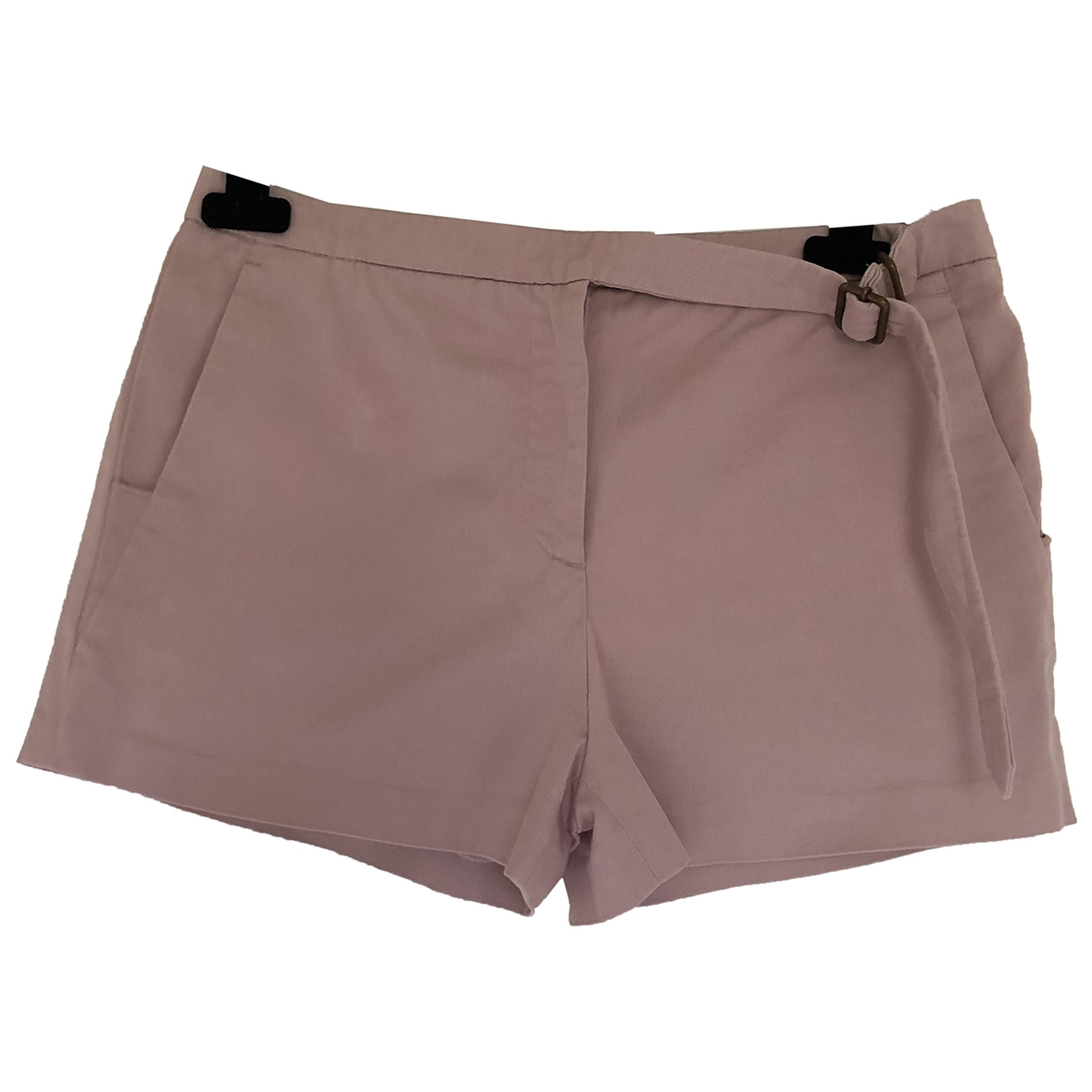 Iceberg \N Pink Cotton Shorts for Women 40 IT