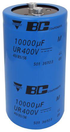 Vishay 10000μF Electrolytic Capacitor 400V dc, Screw Mount - MAL250136103E3 (8)