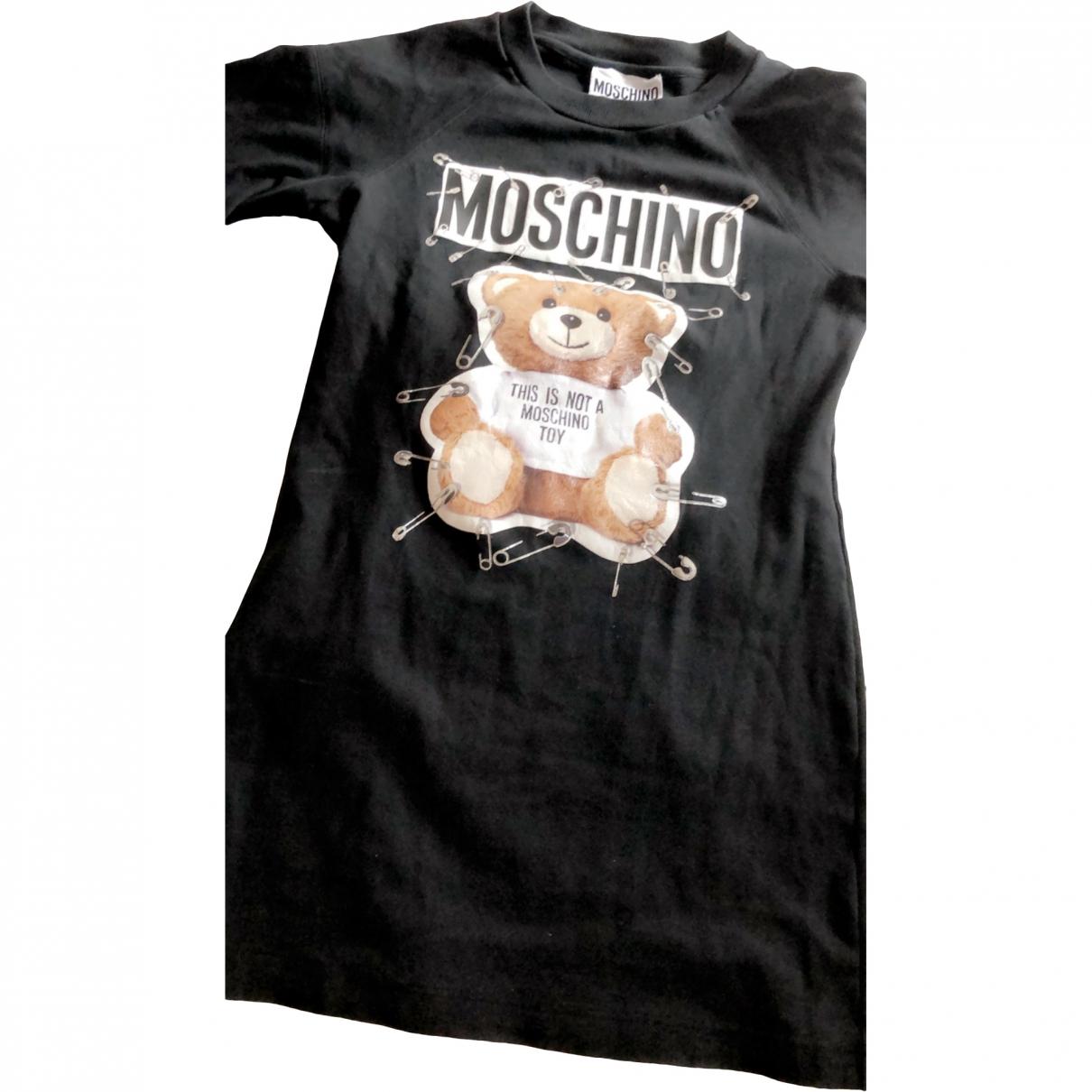 Moschino \N Black Cotton dress for Women 40 FR